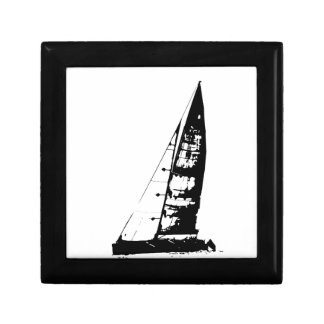Sailboat Silhouette Gift Box