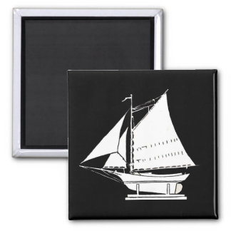 sailboat silhouette magnet