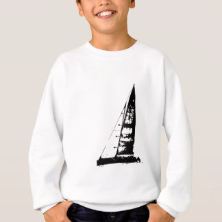 Sailboat Silhouette Sweatshirt