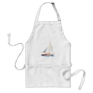 Sailboat Smooth Sailing Standard Apron