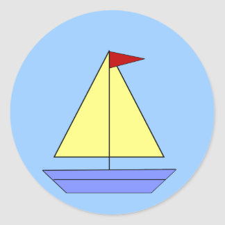 Sailboat - Sticker
