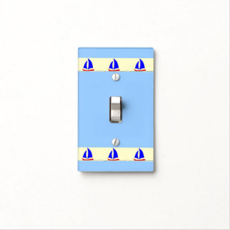 Sailboat Stripe Light Switch Cover