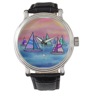 Sailboat Sunrise Watch