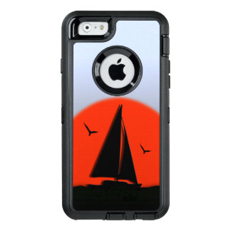 Sailboat Sunset OtterBox Defender iPhone Case