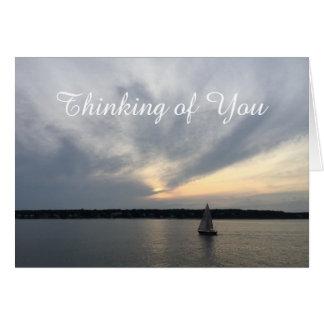 Sailboat Thinking of You Card