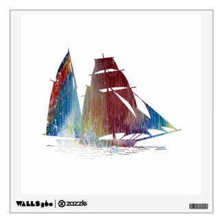 Sailboat Wall Decal