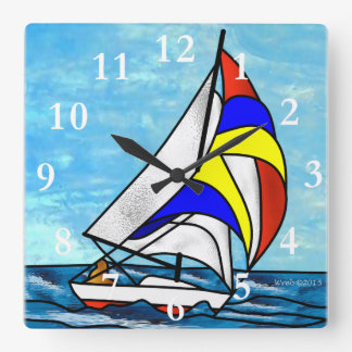 Sailboat Wallclock