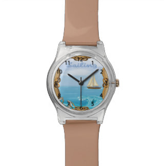 Sailboat Wrist Watch
