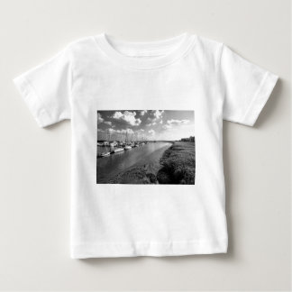 Sailboats and Mussel Beds Jekyl Island Georgia Baby T-Shirt