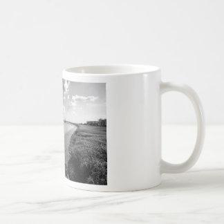 Sailboats and Mussel Beds Jekyl Island Georgia Coffee Mug
