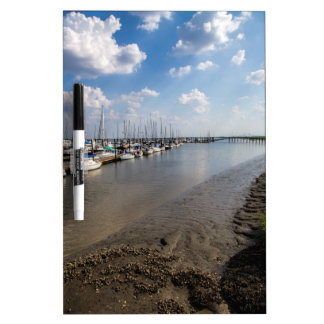 Sailboats and Mussel Beds Jekyl Island Georgia Dry Erase Boards