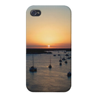 Sailboats at Sunrise iPhone 4 4/S case