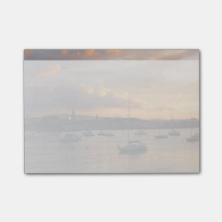 Sailboats at Sunset Post-it® Notes