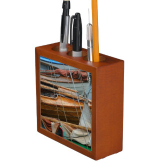 Sailboats at the Marina Desk Organizer