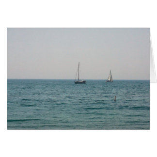 Sailboats Card
