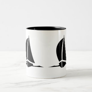 Sailboats Coffee Mug