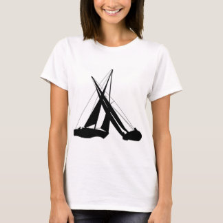 Sailboats - Crossing Tacks T-Shirt