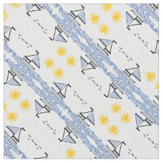 Sailboats Fabric