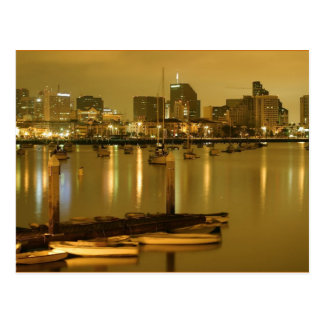 Sailboats in the San Diego Harbor Postcard