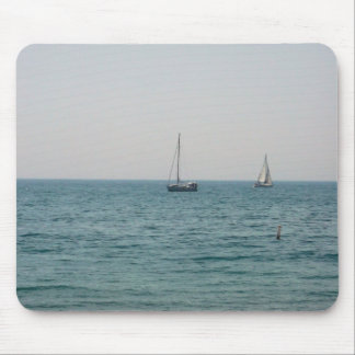 Sailboats Mouse Pad