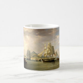 sailboats  painting 42 coffee mug