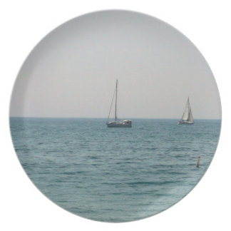 Sailboats Party Plates