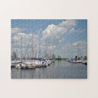 Sailboats puzzle