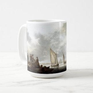 Sailboats Sailing Harbor Dock Ocean Mug