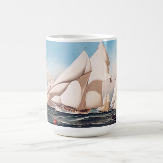 Sailboats Sailing Yacht Ships Boat Race Mug