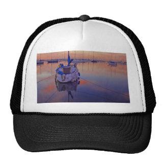 Sailboats Sunrises Hat