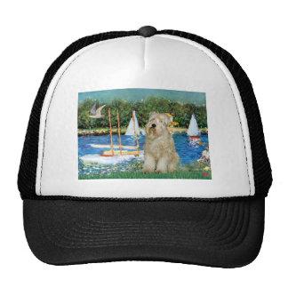 Sailboats -Wheaten Terrier 1 Trucker Hat