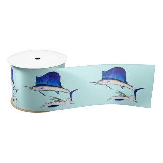 Sailfish 3 Inches Satin Ribbon