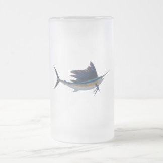 sailfish  beer mug