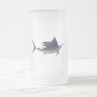 sailfish  beer mug