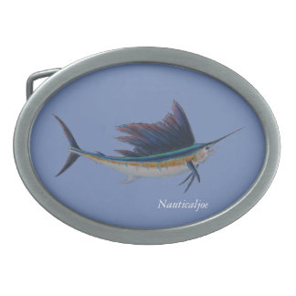 sailfish belt buckle