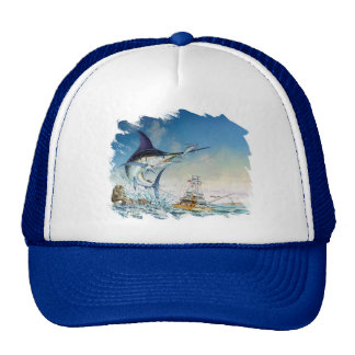 Sailfish Cap Trucker Hat