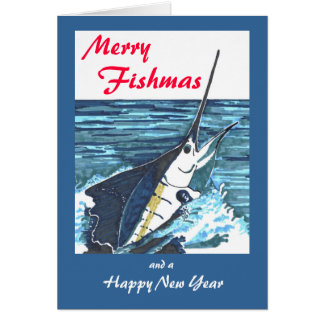 Sailfish Christmas Card