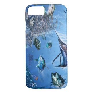 Sailfish Frenzy iPhone 7 cover