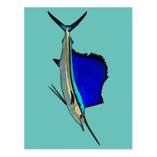 Sailfish Postcard