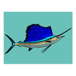 Sailfish Postcard 2