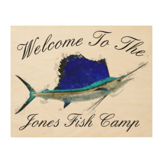 Sailfish Welcome Sign