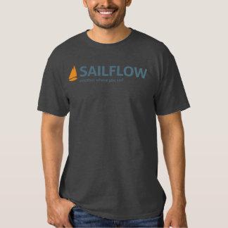 SailFlow Men's Charcoal T-Shirt