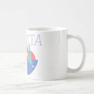 Sailing Regatta Basic White Mug