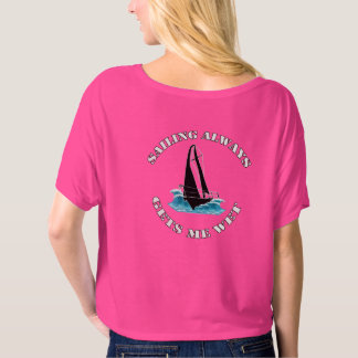 Sailing always gets me wet Women's Bella T Shirt