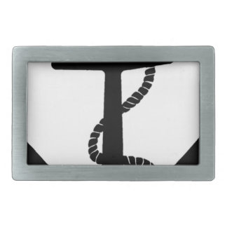 Sailing Anchor Sea Explorer Pirate Ship Belt Buckle