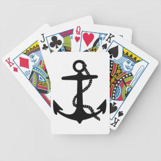 Sailing Anchor Sea Explorer Pirate Ship Bicycle Playing Cards