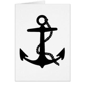Sailing Anchor Sea Explorer Pirate Ship Card