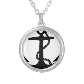 Sailing Anchor Sea Explorer Pirate Ship Silver Plated Necklace