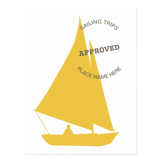 Sailing Approved Postcard