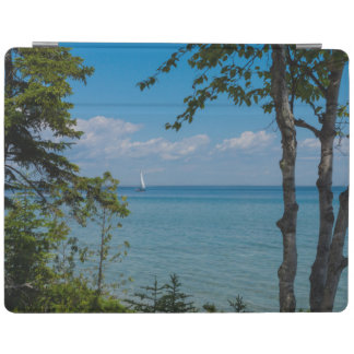 Sailing At Mackinac iPad Cover